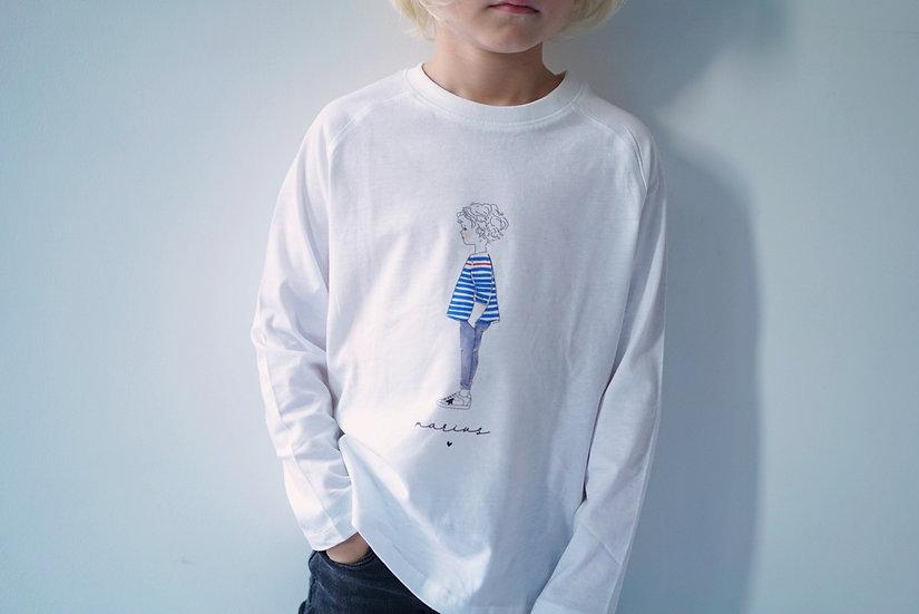 T-shirt ML SILHOUETTE garçon