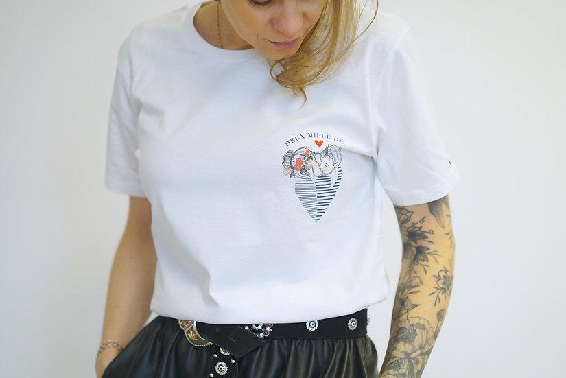 T-shirt unisexe LE BAISER COEUR