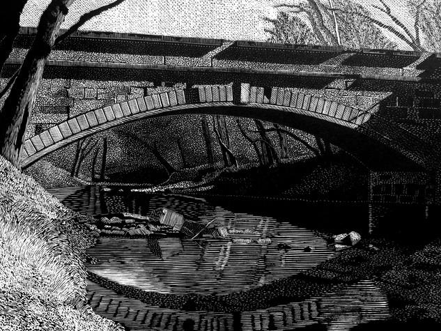 Aqueduct on the C & O Canal