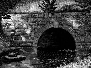 Small stream near Seneca, Maryland