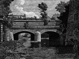 Aqueduct at Galt's Mill, Amherst County, Virginia