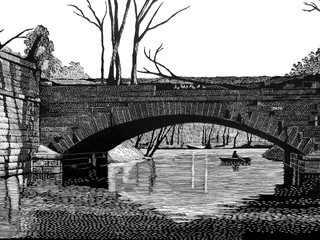 Aqueduct on the James River Canal