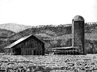 Farm near Stokesville, Augusta County, Virginia