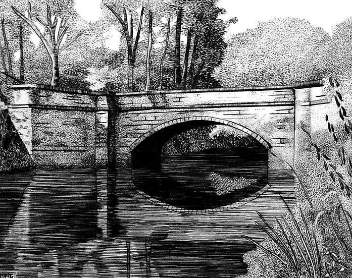 Fifteenmile Creek Aqueduct (engraving)