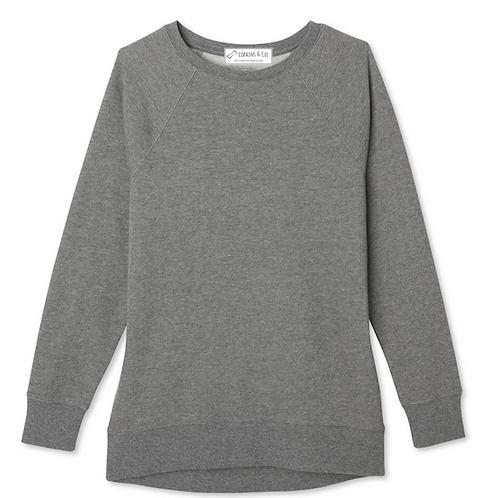 Sweat minimaliste Charcoal à personnaliser