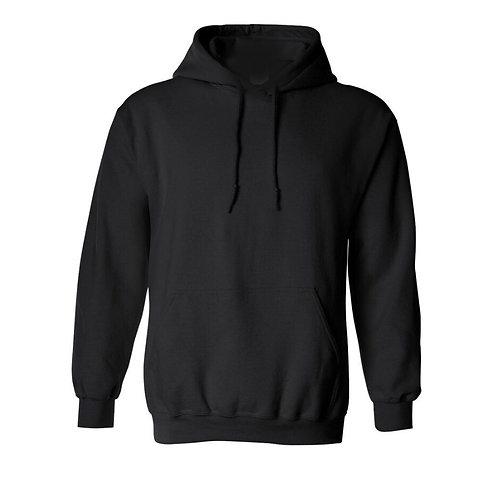 Hoodie Noir - Choix de broderie