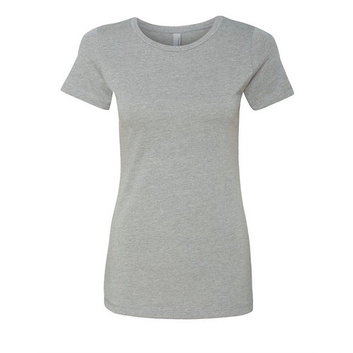 T-shirt gris  clair - Choix de broderie