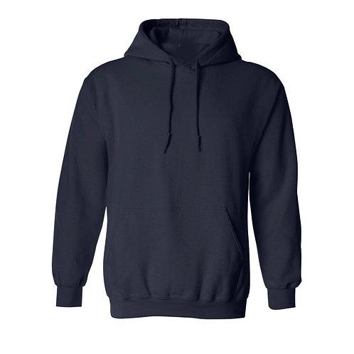 Hoodie Bleu marine   - Choix de broderie
