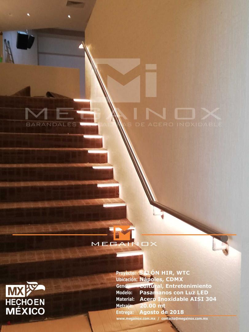 con iluminación LED