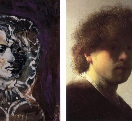 """Étude d'une oeuvre : Stefan Szczesny, """"Rembrandt"""", 1991"""