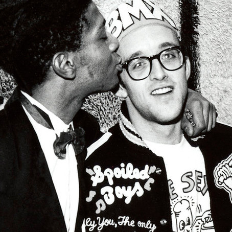 "Virtual exhibition of the week : ""Keith Haring, Jean-Michel Basquiat. Crossing lines"""