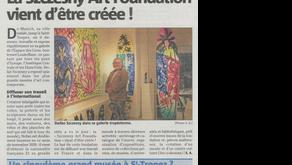 """Création du fonds de dotation """"Szczesny Art Foundation - Saint-Tropez"""""""