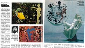 ARCHIV : Stefan Szczesnys' Ausstellung in der Glyptothek München - August 1984