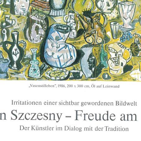 """Friedrich W. Kasten : """"Stefan Szczesny - Freude am Malen"""", 1986"""