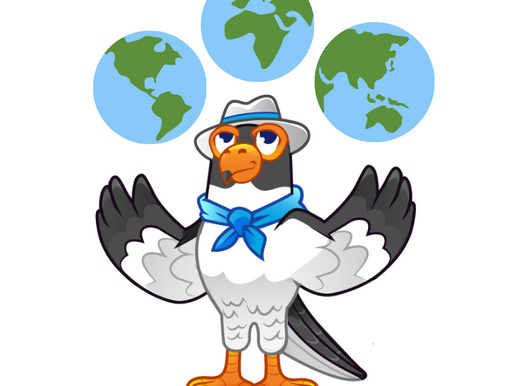 Who is Perry the Falcon™?