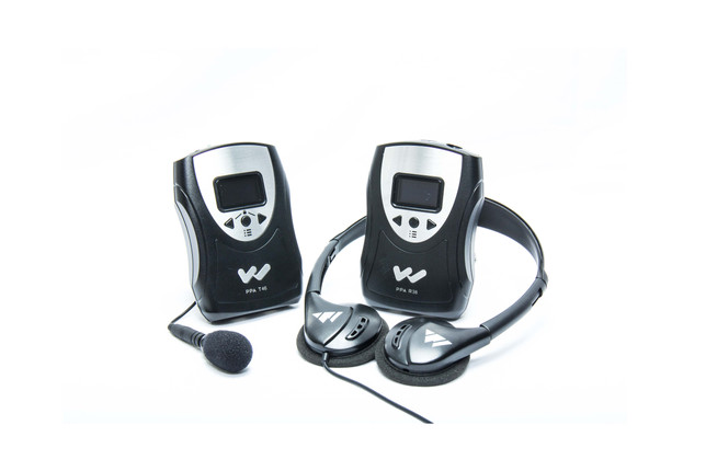 Portable-Transmitter and receiver
