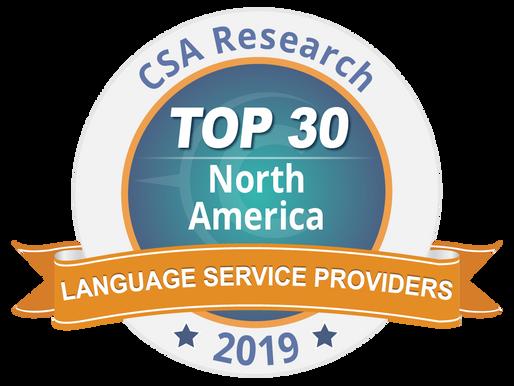 Continental Interpreting: Top 30 Language Service Provider in North America