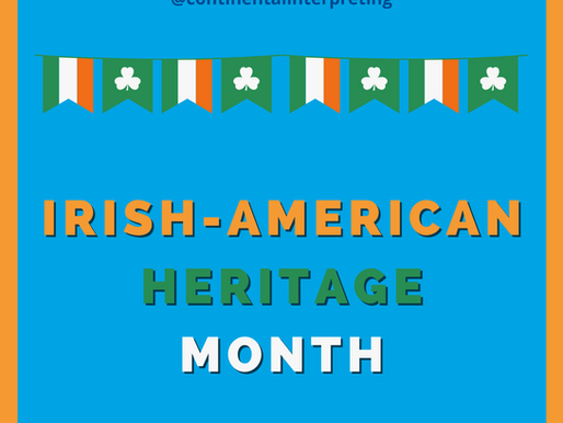 What is Irish-American Heritage Month?