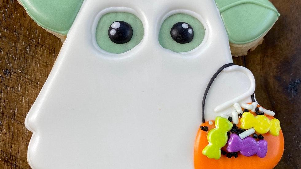 Halloween Baby Yoda Single