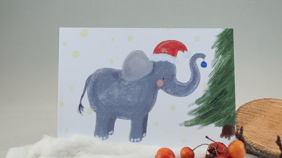 kerst olifant 202024