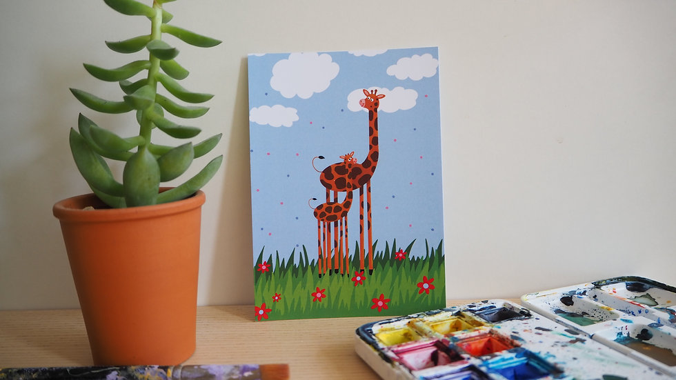 Baby giraffe 2019040