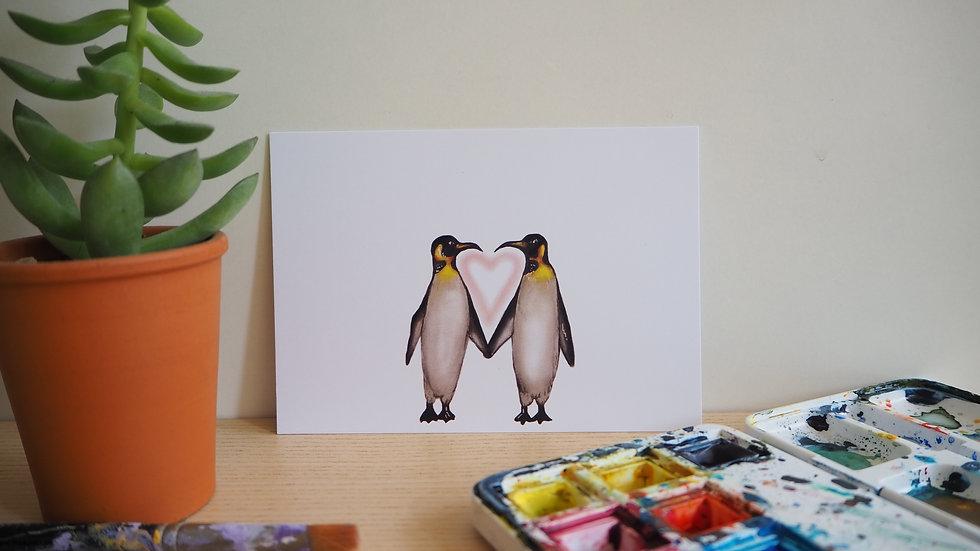 Pinguïn liefde 2019027