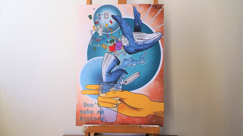 Poster A3 Walvis