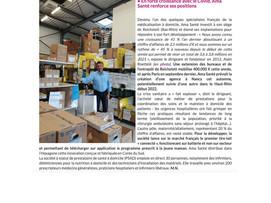 """Traces Ecrites 20/05/2021 """"en forte croissance avec le COVID,AMA Santé renforce ses positions"""""""