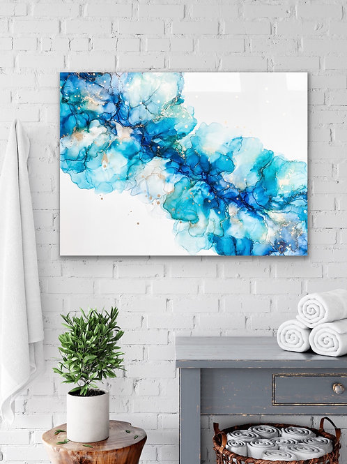 A RIPPLE EFFECT - Original Alcohol Ink Painting