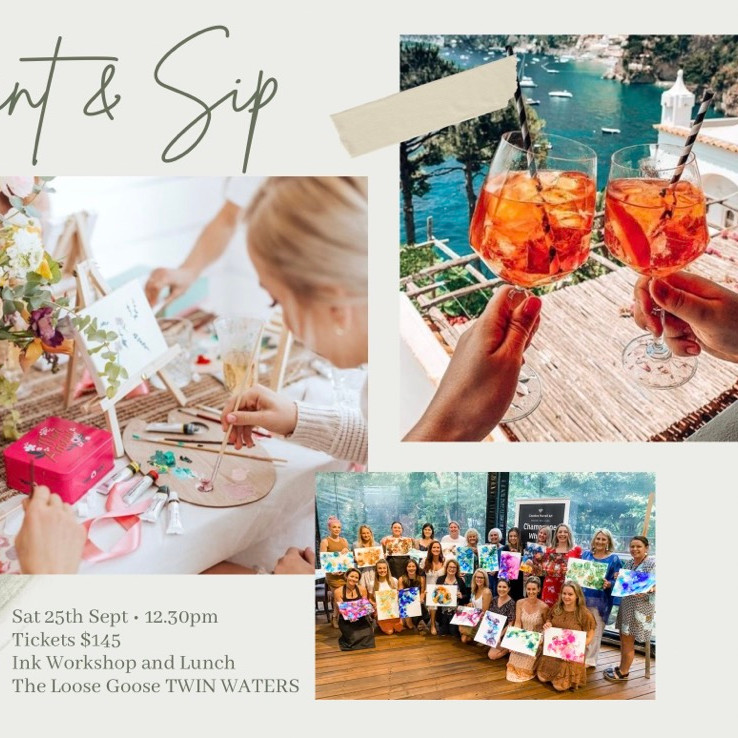 Paint & Sip - Late Lunch