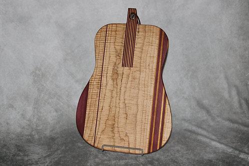 Acoustic Guitar Cutting/Charcuterie Board