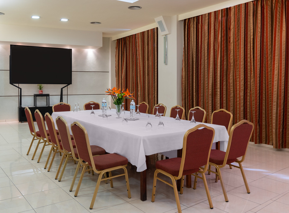 Business Meeting Setting