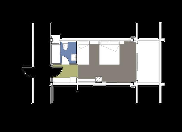 Main Building Standard Double Room