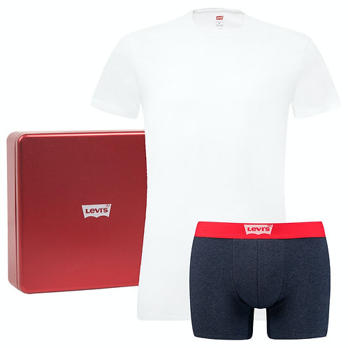 Levi's Underwear Pack Gift Box With T-Shirt