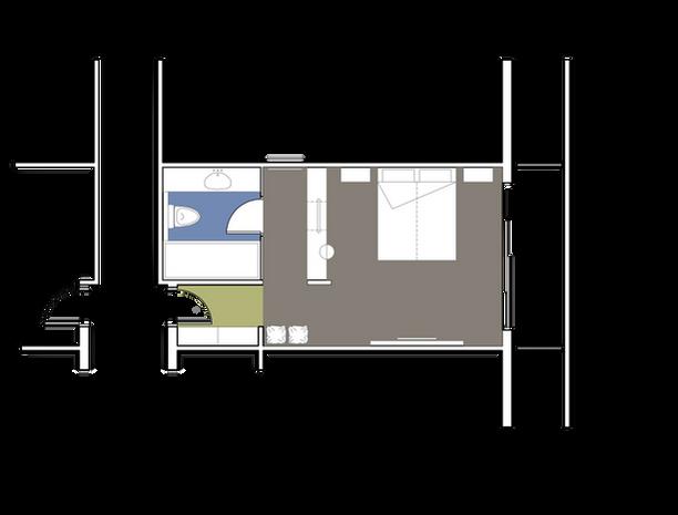 Main Building Deluxe Double Room