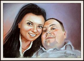 portret pary na zamówienie