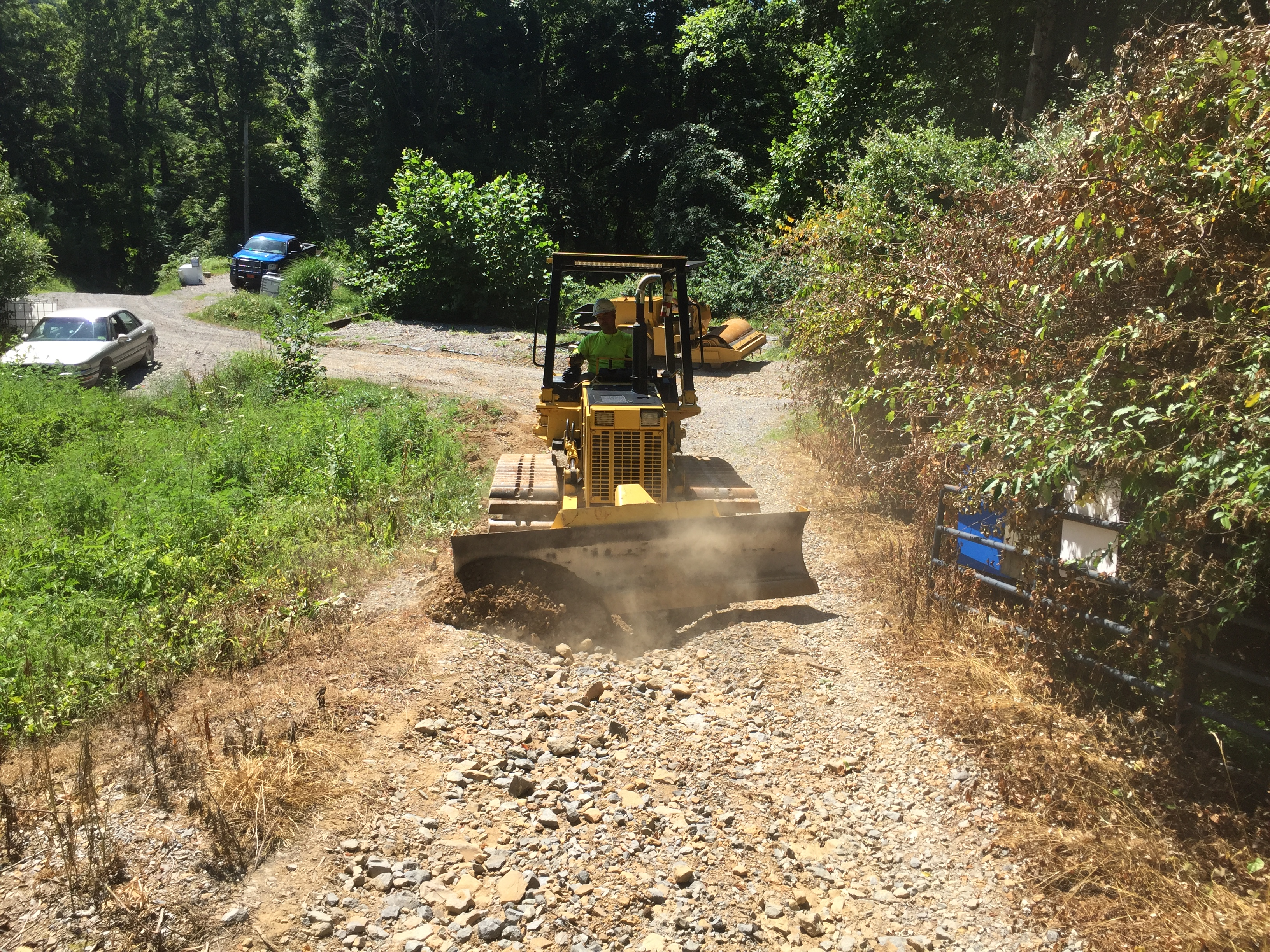 Access road repair