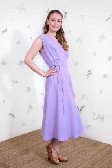 Laila Dress - Lavender