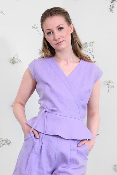 Sofia Top - Lavender