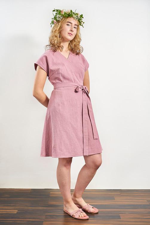 Laakso Dress - Dusty Rose