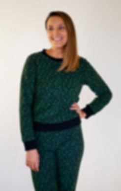 Turtle sweatshirt, cotton