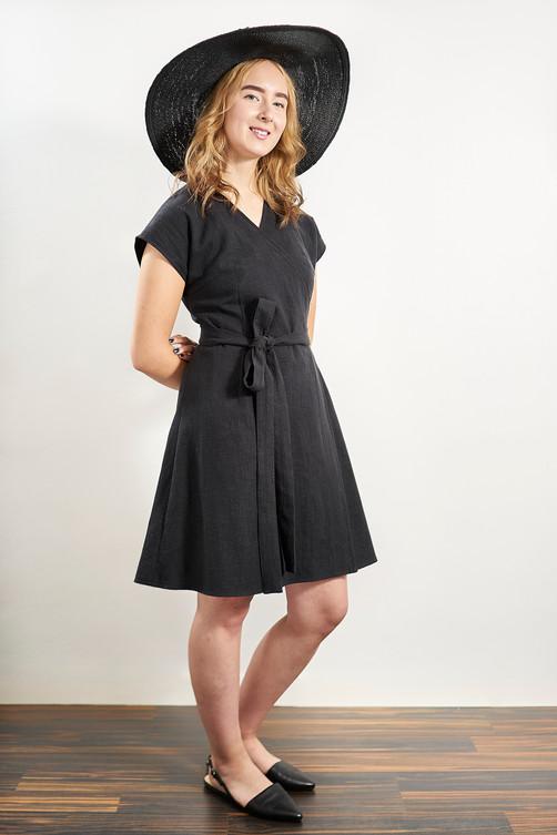 Laakso Dress - Black