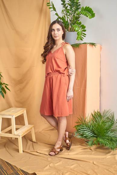 Loma Shorts - Orange