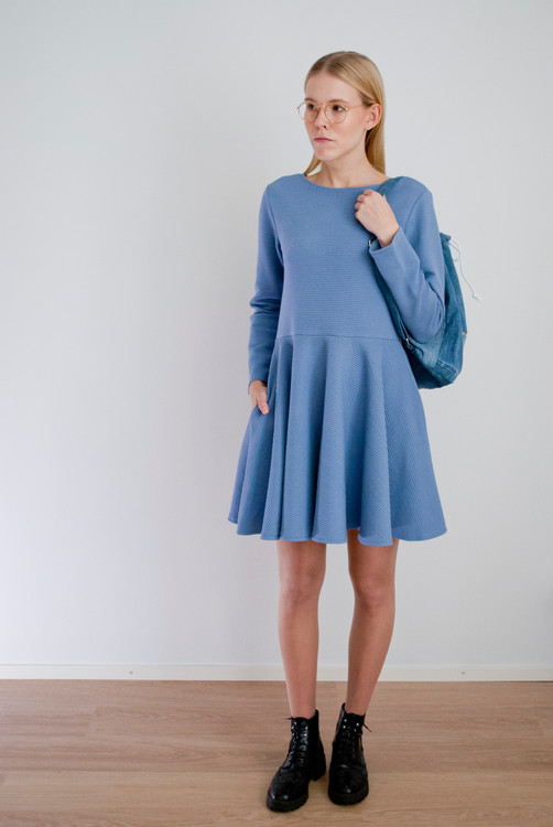 Jana Dress, blue