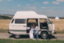 VW Bus Flitterwochen