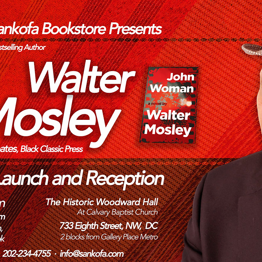 Walter Mosley Book Launch and Reception