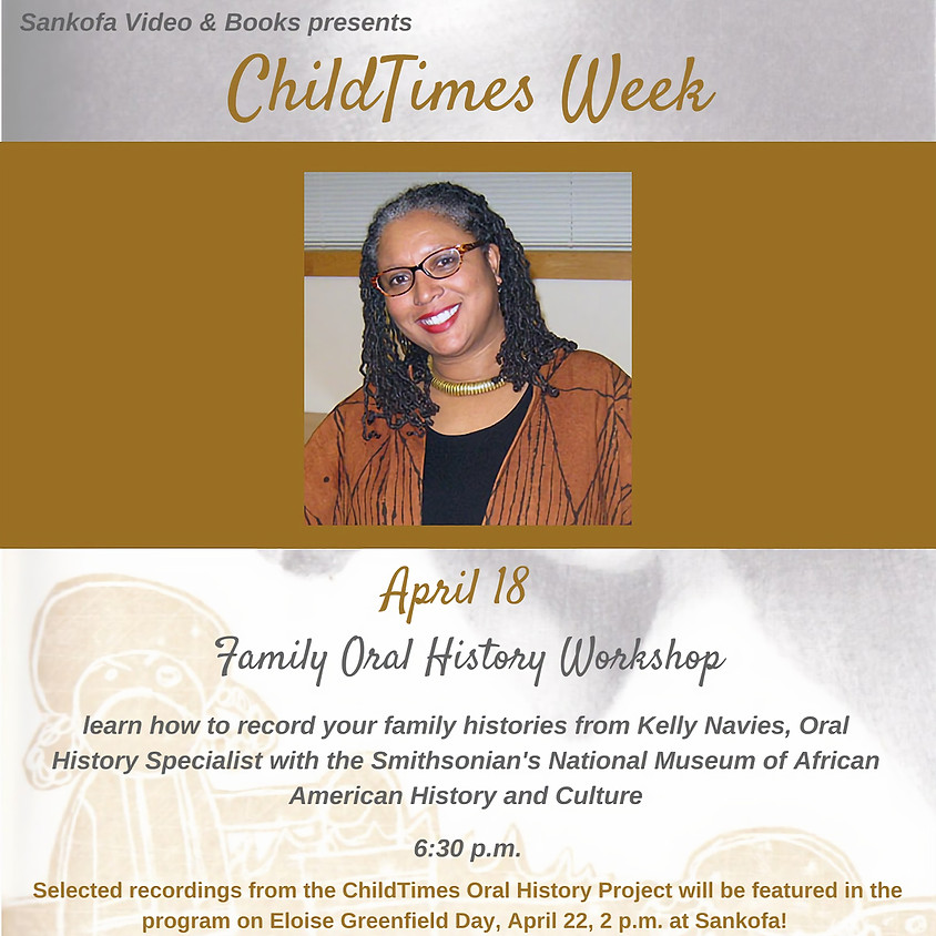 Family Oral History Workshop