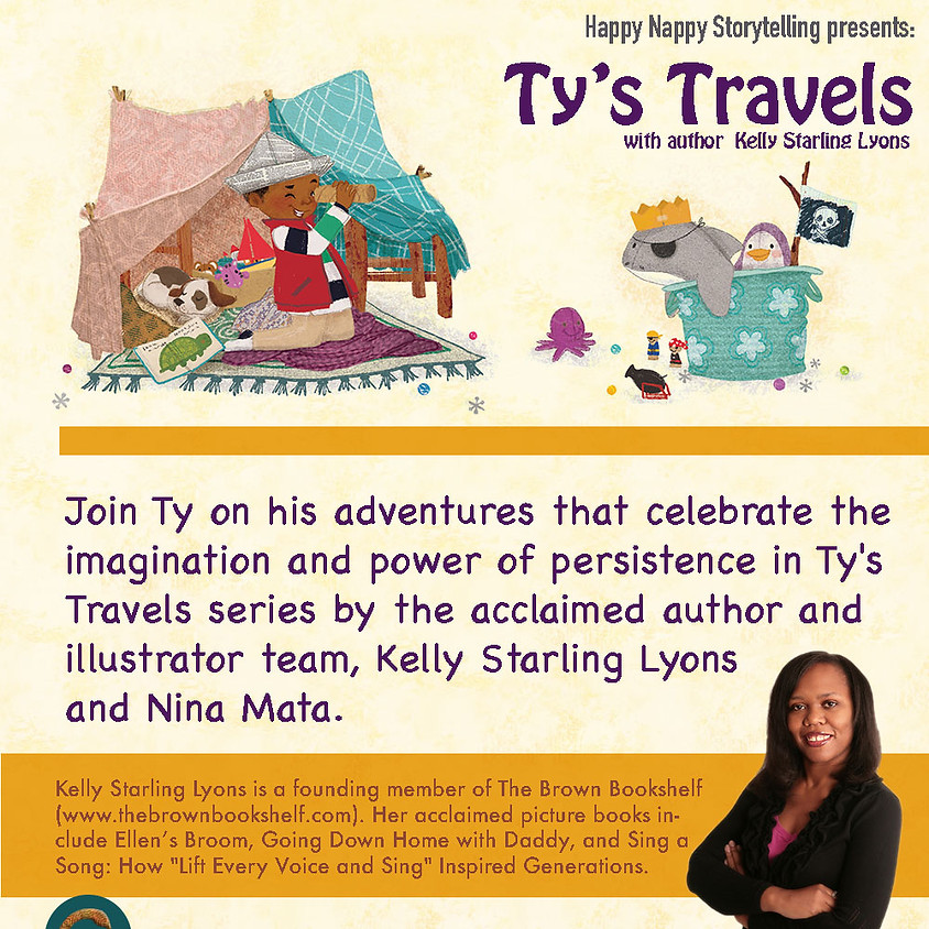 Happy Nappy Storytelling featuring Author, Kelly Starling Lyons