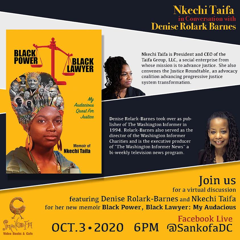 Nkechi Taifa in Conversatio with Denise Rolark Barnes