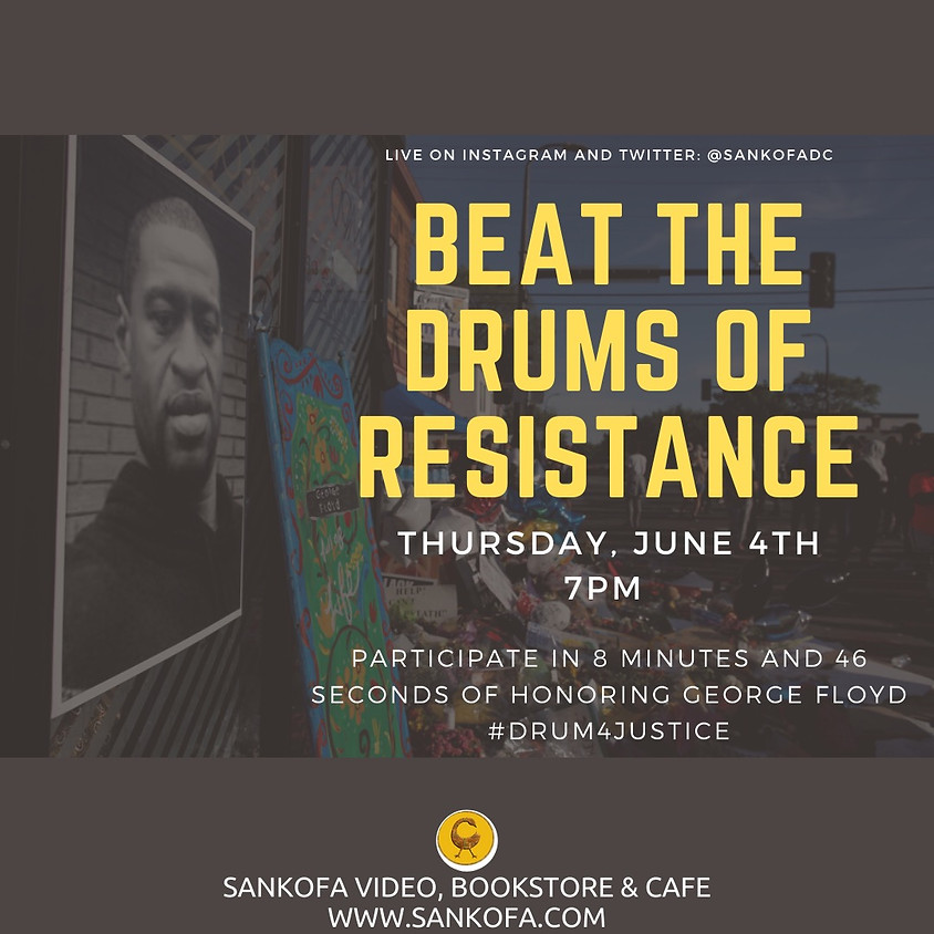 Beat the Drums of Resistance!